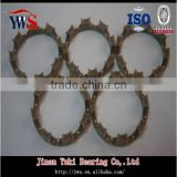 plastic/steel bearing retainer
