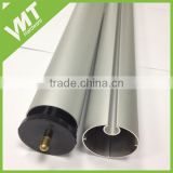 custom design aluminum curtain rod by extrusion