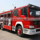 10wheels Sino Howo 12cbm Water-Foam fire trucks