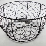 wholesale wire baskets wire bread baskets stainless steel wire mesh baskets