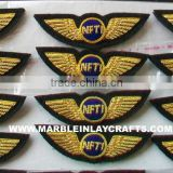 Zari Hand Embroidery Indian Badges