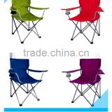 Folding Fishing Camping Camp Hiking Outdoor Party Picnic Chair Colors With Cup Holder Camp Lawn Yard