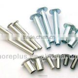 Taiwan hollow tubular rivets 304 316 stainless steel rivets Tubular Rivets