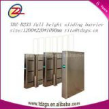 sliding glass flap gate barrier for access control system with access control software in English