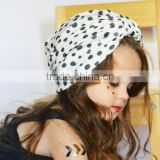 Multicolor fashion Muslim baby turban hat for sale, Fashion Hats For Children With Poker Dots