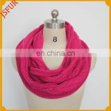 Rose Knitted Winter Fashion Wholesale Women Scarf