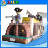 Pirate Ship Type Inflatable Obstacle Course Inflatable Pirate Boat inflatable pirate tunnel