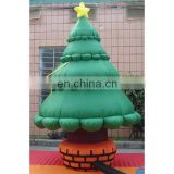 high quality snowing inflatable christmas tree for sale