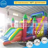 Guangzhou equipment obstacle course inflatable playground for fun