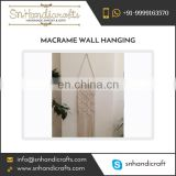 Vintage Style Macrame Boho Wall Hanging at Factory Price