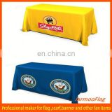 polyester advertising table cover sheet