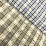cotton yarn dyed high end dress shirt fabric factory supply  Cotton/poly yarn dyed striped shirt oxford fabric wholesale