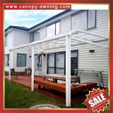 aluminum aluminium metal pc outdoor gazebo patio canopy canopies cover awning shelter polycarbonate manufacturers