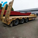 Brand New 7Pin Trailer Socket 3/4 Axles Gooseneck Low Bed Truck Semi Trailer 3 Axle Flatbed Semi Trailer