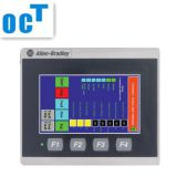 Low cost Allen bradley plc touch screen hmi panelview 2711PC-T10C4D8