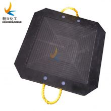 2021 Impact resistance portable crane mat / Crane Foot Pad / uhmwpe Outrigger pad