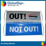 Wholesale hand held scrolling banner