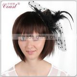 cheap novelty wholesale decorative hair clip mini hard top hats