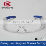 High impact protective onion safety glasses with ce certification made by professional safety goggle eyewear manufacturers