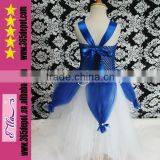 2014 Wholesale Elsa Dress Cosplay Costume In Frozen Belly Dance Costume Dance Dress