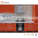Fashionable Acrylic board kitchen cabinet,kitchen scale