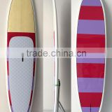 Factory wholesale surfing board bamboo sup paddle board
