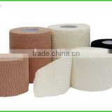 Hot Melt Adhesive Medical Hand Tear Elastic Bandage with CE FDA