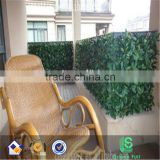 "39"" Height X156"" Length Simulation leaves fence decorations/garden decoration green artificial leaf ivy fences"