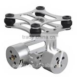 Poplar DJI Phantom Gopros 2 3 CNC Metal Brushless Camera Gimbal with Motors & Controller
