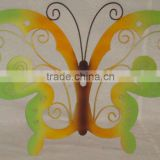 Pretty Colour Metal Crafts Wall Art Colour Artificial Butterfly