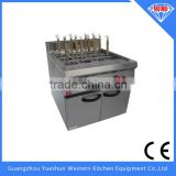 High performance commercial gas pasta cooker with cabinet