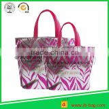2015 Reusable custom printed food grade bag insulated thermal food carry bag/oversized cooler lunch bag