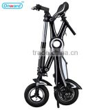 2016Newest style electric bike hidden battery foldable electric bike wholesale with CE and FCC