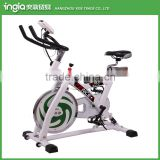 White Spinning Bike Commercial Used Indoor Exercise Bike