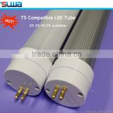 Schools ERP TUV UL SAA CE RoHS FCC g13 base t5 120lm/w qualified lighting electronic ballast compatible T5 T8 led tube bulb