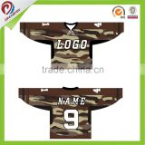 wholesales custom sublimation ice hockey goalie jerseys