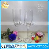 New Promotion 150ml champagne wine glass/180ml high ball wine glass for sale