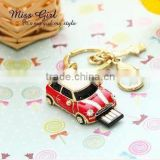 Jewelry car shaped usb flash drives stick storage devices HOT Usb 2.0 4gb-32gb