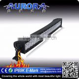 20 inch 200W Aurora curved double row led light bar off road electric vehicle off road led light bars