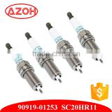 Car Engine Genuine Parts Denso Iridium Spark Plug 90919-01253 SC20HR11 for Toyota Lexus Crown Camry Corolla Rav4