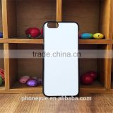 With Aluminium Plate 2D DIY Sublimation Blank Cover Case For iPhone 6 4.7inch