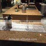 sparkle quartz stone basin tops kitchen island countertop