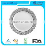 Silver wholesale plastic Charger Dispoable Plates For Wedding                                                                                         Most Popular                                                     Supplier's Choice
