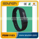 Bluetooth Waterproof bracelet pedometer, Touch Key Vibrating wristband, Smart Wristband With OLED Screen
