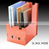 Many color decorative wooden file folders for office use