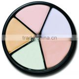 Best make up concealer! 5 light colors foundation, long lasting, shading function, cosmetics, name brand make up concealer