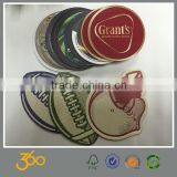 promotional custom size glass coaster,custom design paper coaster