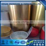 8011 PE Color Coated Aluminium foil for airline tray