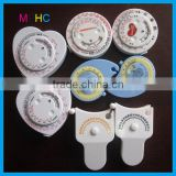 Various Designs Promotional 150cm/1.5m Plastic BMI Calculator Measuring Tape