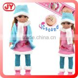 18 inch doll christmas gift candy doll models vinyl head blow mould body with EN71